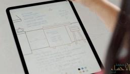"""تطبيق لـ""""آي باد"""" يجعل الكتابة اليدوية فعالة مثل لوحة المفاتيح"""