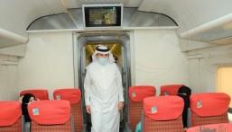 """مرورًا بالهفوف .. """"وزير النقل"""" يُدشن 350 رحلة أسبوعياً لـ """"الخطوط الحديدية"""""""