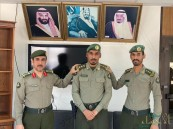 ترقية الملازم أول عبدالاله بن صالح الحباش إلى رتبة نقيب