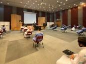 """في أول أيام الدراسة.. التزام تام من طلاب """"جامعة الملك فيصل"""" بالإجراءات الاحترازية (صور)"""