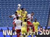 """بالفيديو .. النصر يواصل انتصاراته بعد تغلبه على الوحدة بهدف في """"الجولة 25"""""""