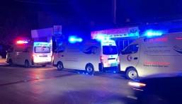 """بالصور.. """"مركز الملك سلمان"""" يساعد في إسعاف جرحى انفجار بيروت"""