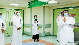 """""""مستشفى الإمام"""" بالدمام يُكرّم الطاقم الطبي بالخطوط الأمامية لمكافحة """"كورونا"""""""