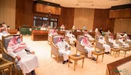 سمو وزير الرياضة يجتمع برؤساء أندية دوري كأس الأمير محمد بن سلمان