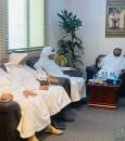 """""""البوعلي"""" يستقبل أعضاء مجلس بلدي البطحاء"""