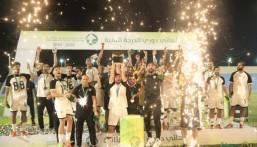 هجر يُتوج ببطولة دوري الدرجة الثانية 2019-2020