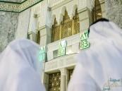 """بالصور … """"السديس"""" يُدشن مشروع ترقيم أبواب المسجد الحرام"""