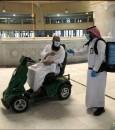 مداخل وأبواب لذوي الإعاقة بالمسجد الحرام