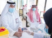 التوعية بأمراض السكري وضغط الدم لمنسوبي المؤسسة العامة لجسر الملك فهد