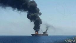 انفجار في ناقلة نفط قبالة سواحل جدة والسبب مصدر مجهول