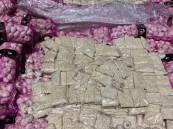 """داخل شحنة """"ثوم"""" … إحباط تهريب أكثر من 11 مليون قرص إمفيتامين مخدر (صور)"""