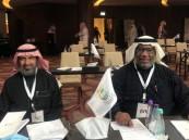 """""""القرينيس"""" و """"بوسحه"""" يشاركان في لقاء رئيس اللجنة البارالمبية السعودية مع رؤساء اندية ذوي الاعاقة"""