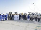 المؤسسة العامة للري تدشن مشروع نظافة ونقل وإزالة المخلفات بالواحة الزراعية (صور)