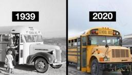 بعد 80 عاما .. لماذا لم يتغير شكل الحافلات المدرسية؟