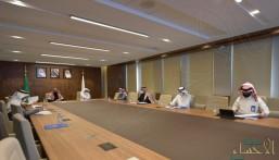 """""""الجعفري"""" يرأس اجتماع اللجنة الإشرافية العليا للمحافظة على واحة الأحساء"""
