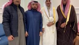 """""""الشمري"""" تحتفي بزواج ابنها """"محمد"""""""