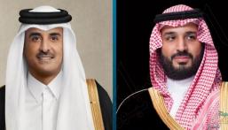 في اتصال هاتفي .. أمير قطر يطمئن على صحة ولي العهد ويؤكد دعم الدوحة لأمن المملكة