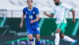 بالصور .. المنتخب السعودي يتغلب وديًا على منتخب الكويت