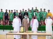 فريق العمران يتوج بلقب بطولة المملكة للشباب لكرة اليد