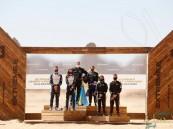 """رئيس الاتحاد السعودي للسيارات يتوّج فريق """"روزبيرغ إكس ريسينق"""" بكأس  """"إكستريم إي العلا"""""""
