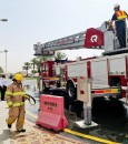 انسكاب مواد خطرة عالية السُمية بفرضية في مستشفى الملك عبدالعزيز بالأحساء (صور)