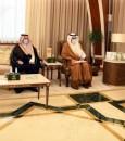 سمو أمير الشرقية يستقبل رئيس مجلس التجمع الصحي بالأحساء (صور)
