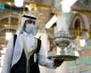 """""""الحرم النبوي"""" الشريف .. أكثر من 650 جولة للتبخير والتطييب خلال النصف الأول من رمضان (صور)"""