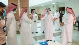 """وسط تخوف الطلاب .. """"جامعة الملك فيصل"""" تستعد للاختبارات حضوريًا و""""العوهلي"""" يتفقد مراكز الاختبار"""