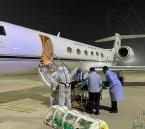إخلاء عائلة سعودية مصابة بكوفيد-19 من الهند إلى المملكة