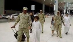 بمناسبة عيد الفطر.. مرابطون بالحد الجنوبي يفاجئون أبناءهم بالعودة بعد غياب 4 أشهر (فيديو)