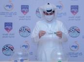بالصور … القرعة تضع الأخضر بالمجموعة الثانية في كأس العرب لكرة قدم الصالات