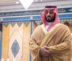 """""""ولي العهد"""" يؤدي صلاة الميت على والدة الأمير محمد بن عبدالرحمن بالحرم المكي"""