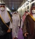 ولي العهد يستقبل أمير قطر بمطار الملك عبدالعزيز الدولي في جدة (فيديو و صور)