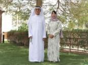 السفير الياباني يغازل متابعيه بصورة له وزوجته بالزي السعودي