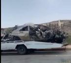 حادث مروع يروح ضحيته شقيقان في الباحة