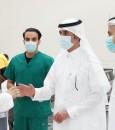 """""""الشعيبي"""" يتفقد مراكز اللقاحات ويكرم المتطوعين العاملين بالمراكز (صور)"""
