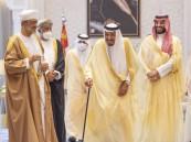 خادم الحرمين يستقبل سلطان عمان ويعقدان جلسة مباحثات رسمية