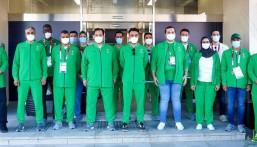"""""""الفيصل"""" يصل لليابان .. ويترأس وفد المملكة المشارك في دورة الألعاب الأولمبية الـ32 (طوكيو2020)"""