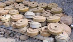 """بإجمالي تجاوز 236 ألفا منذ انطلاق المشروع.. """"مسام"""" ينتزع 369 لغما في اليمن خلال أسبوع"""