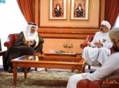 الفالح يبحث التعاون مع رئيس محافظي البنك المركزي في عمان