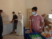 جمعية الرميلة توزع 158 وجبة للمستفيدين (صور)