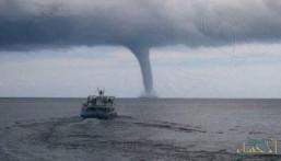 """""""الأرصاد"""" تدرس تكرار ظاهرة """"الشاهقة المائية"""" في المناطق الساحلية بالمملكة"""