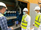 """لإنتاج 560 كيلو واط من الكهرباء … """"أمانة الأحساء"""" تبدأ تشغيل مشروع تحويل """"غاز النفايات"""""""