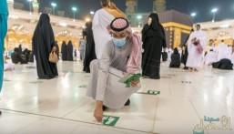 """اشتقنا لسماعها.. ساعات ويردد إمام الحرم المكي """"استووا.. اعتدلوا.. تراصوا"""" (فيديو و صور)"""