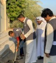"""""""المسؤولية الاجتماعية"""" بنادي النجوم يشارك في حملة الأحساء تغرس (صور)"""