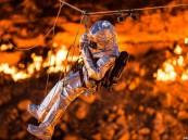 بالفيديو ..  ناشيونال جيوجرافيك تدخل بوابة جهنم