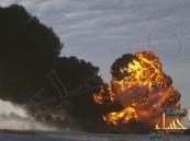 بالفيديو.. كرة نار ضخمة بعد تصادم قطارين بولاية أمريكية
