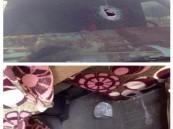 """مجهول يقذف مركبة معلمات بالحجارة ويصيب إحداهن بـ """"عفيف"""""""
