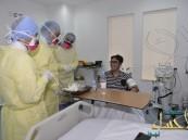 """وزير """"الصحة"""" يطمئِّن على مصابي """"كورونا"""" بالرياض"""