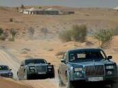 رولز رويس تقاضي مواطن إماراتي لتحميله العلف على سيارتها الجديدة